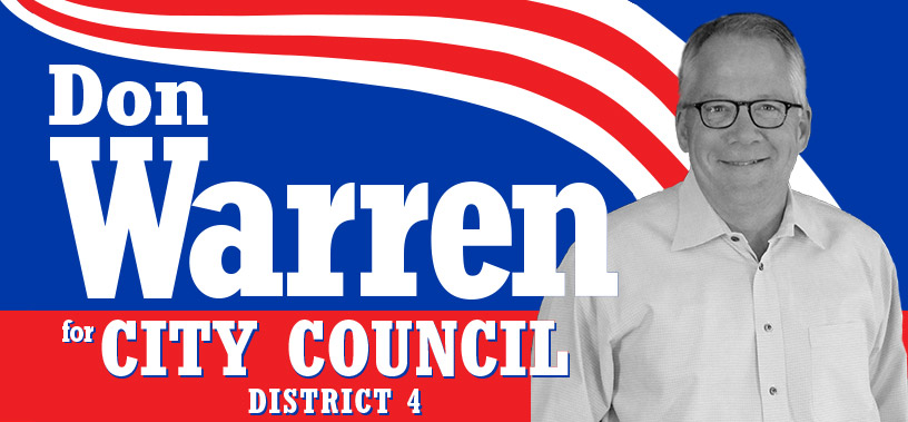 Don Warren for Tyler City Council District 4